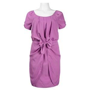 Chiffon Summer Dress(JS3A4315/PURPLE)